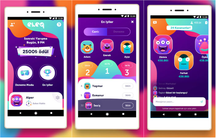 Gerçek para ödüllü mobil bilgi yarışması eleq yayınlandı - Haberler