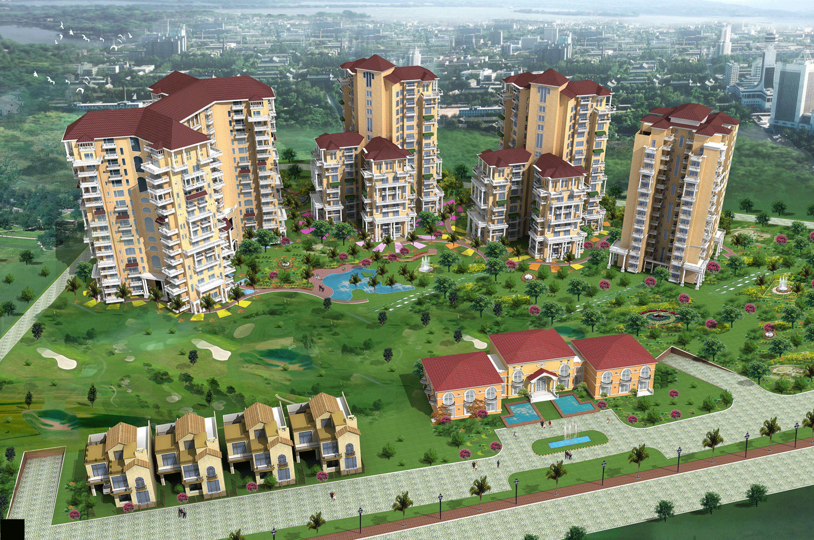 Tivoli Village Homes Tivoli Holiday Village In Sector 5 Dharuhera Gurgaon