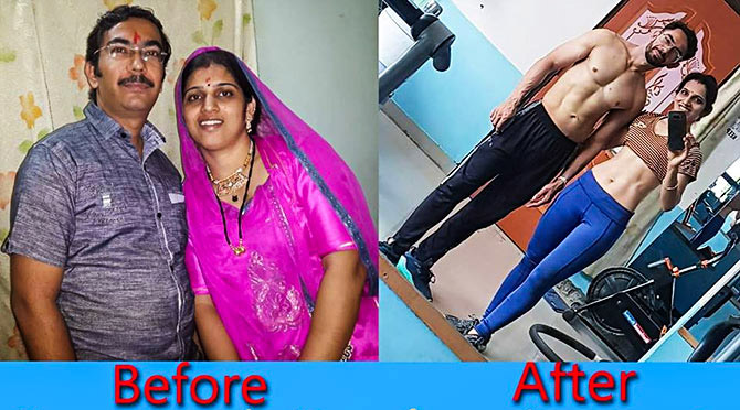 Why this couple\u0027s weight loss journey has gone viral - Rediff