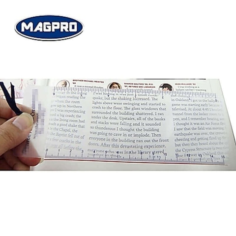 Taiwan Bookmark Size Sheet Magnifier With Tassel Taiwantrade