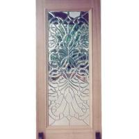 Taiwan French door, entrance, entry door, leaded, glass ...