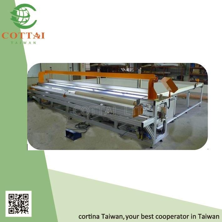 Taiwan COTTAI Blind Fabric cutter, fabric cutting table