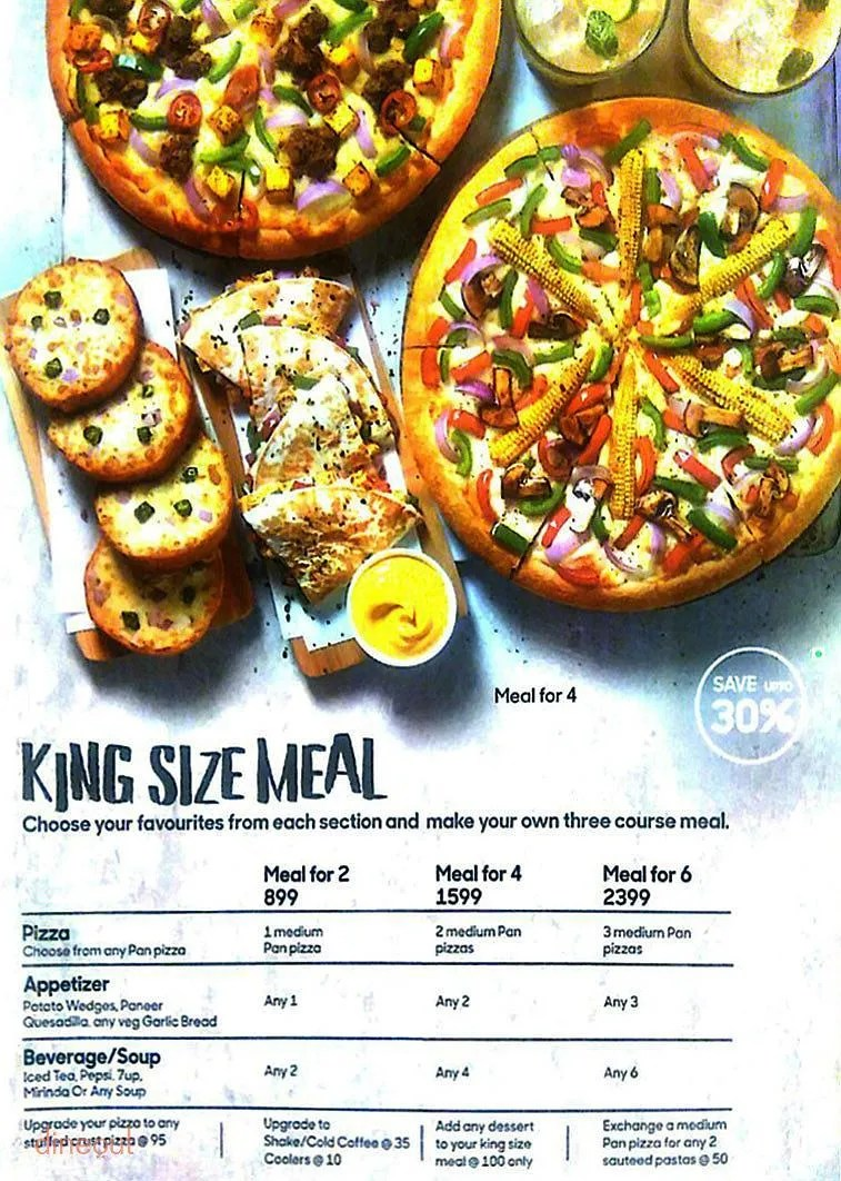 Fullsize Of Pizza Hut Sizes