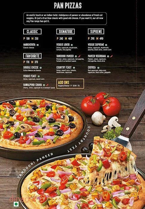 Italian Pizzas Menu Menu Of Pizza Hut Hadapsar Pune Dineout Discovery