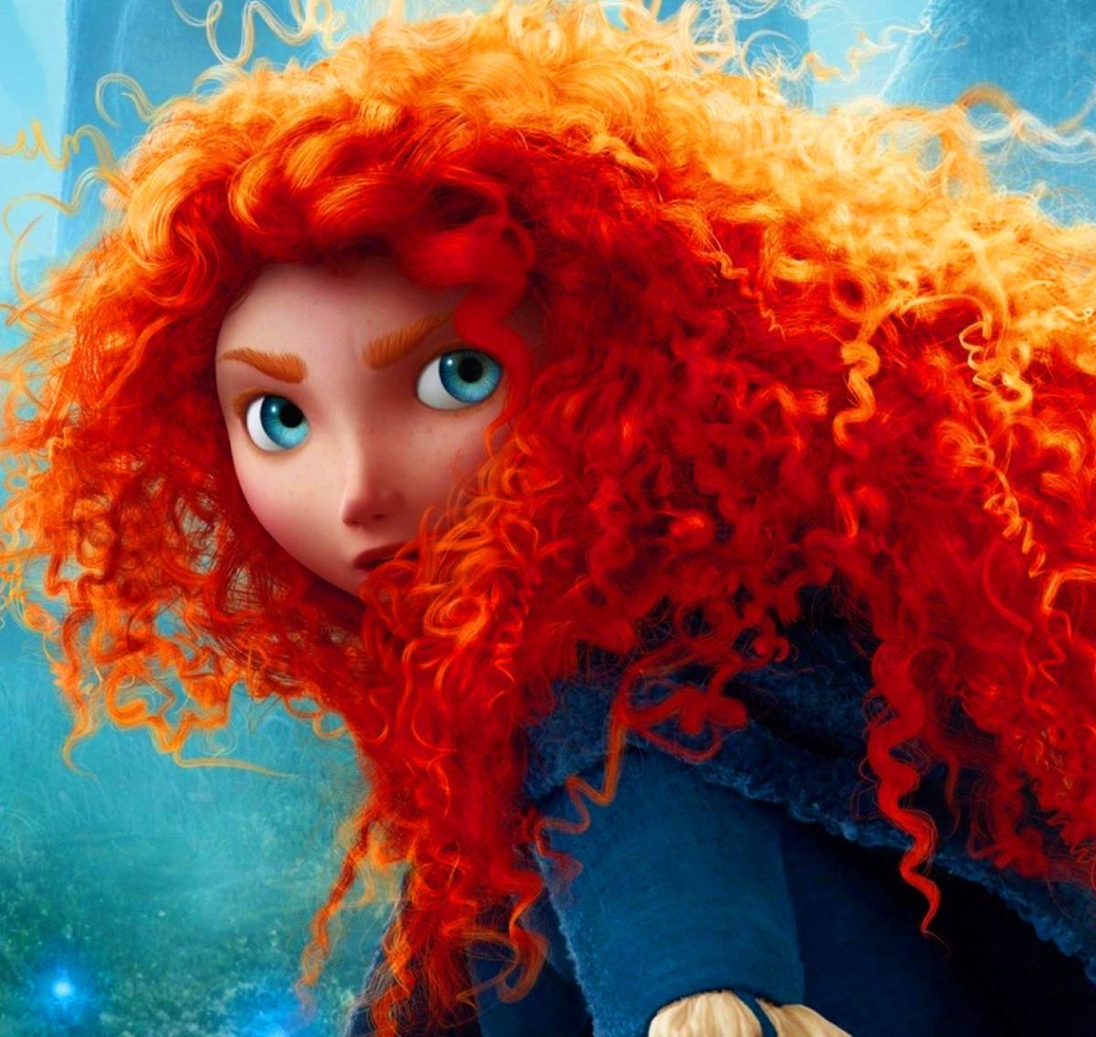 Emo Girl Wallpaper 2012 F Is For Flame Buoyant How Pixar Made Merida S Brave Hair