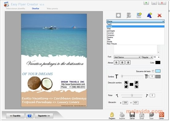 Easy Flyer Creator 41 - Download for PC Free