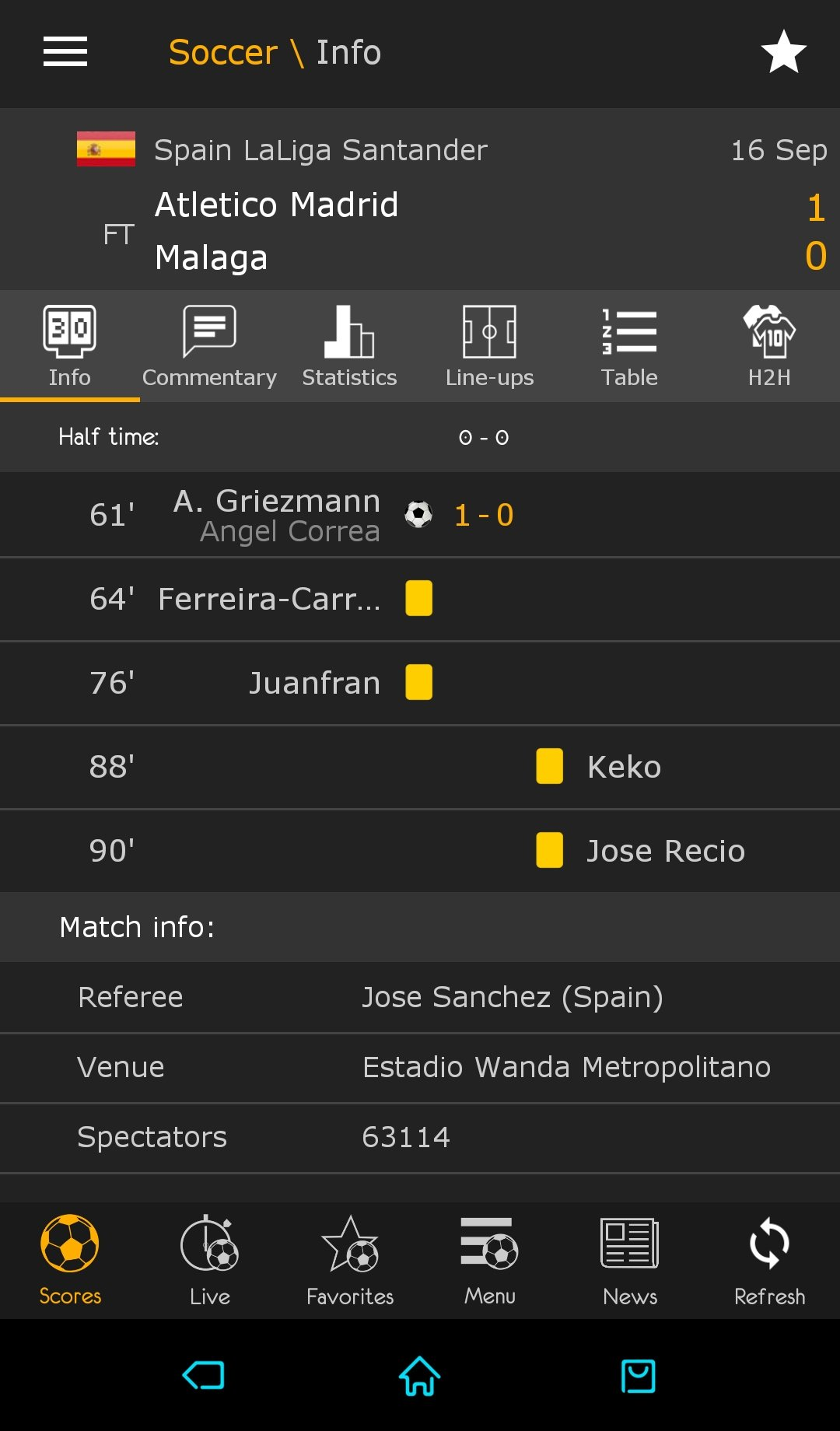 Sofascore Pro Apk Livescore 3 14 Download For Android Apk Free
