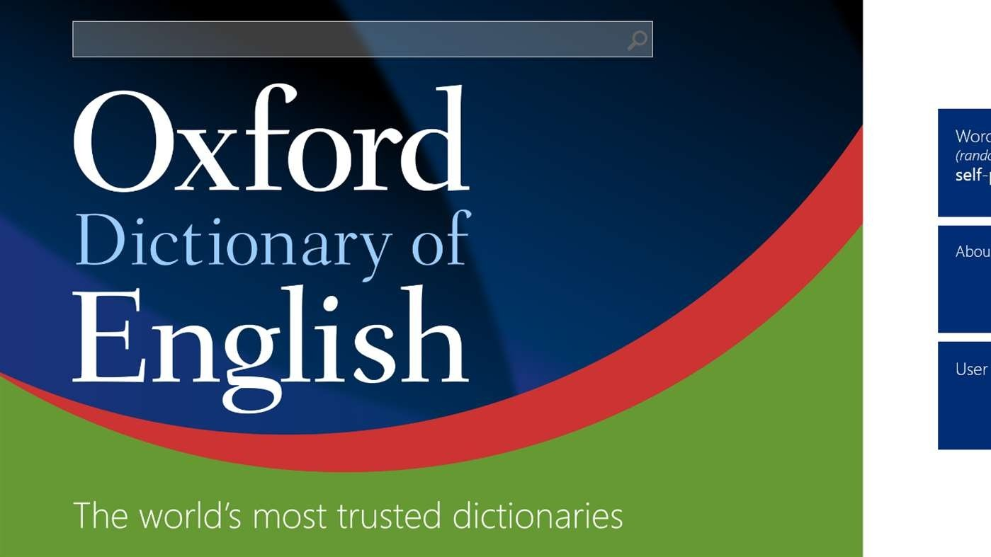 English Pc Oxford Dictionary Of English 2 2 7 Download For Pc Free