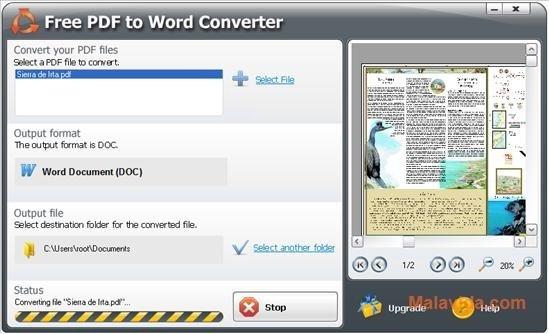Download SmartSoft Free PDF to Word Converter 510383 - Free - Convert File To Pdf