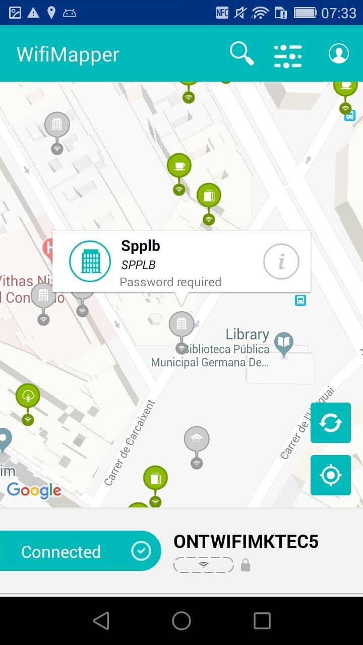 Biblioteca Carcaixent Wifimapper 1 6 2 Download For Android Apk Free