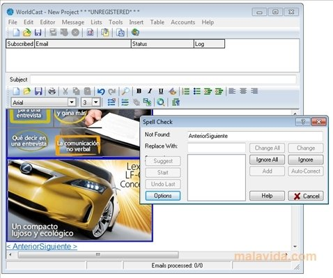 WorldCast 4015 - Download for PC Free