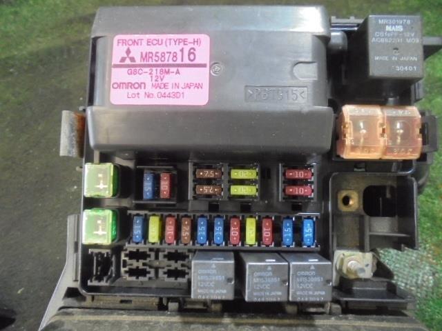 UsedFuse Box MITSUBISHI Grandis 2003 UA-NA4W - BE FORWARD Auto Parts