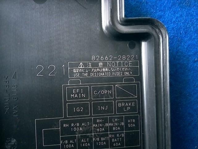 Toyota Noah Fuse Box Manual Wiring Diagram 2019