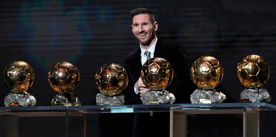 Lionel Messi Wins Record Breaking Sixth Ballon D Or