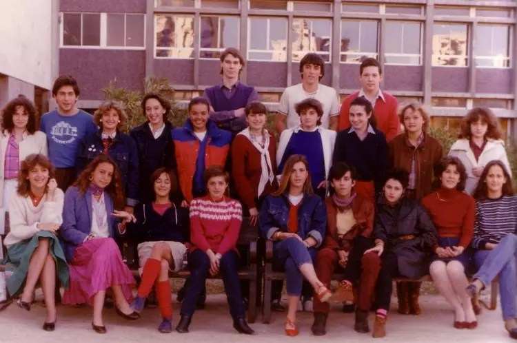 Salon Manga Madrid Photo De Classe Term A De 1982, Lycée Français De Madrid