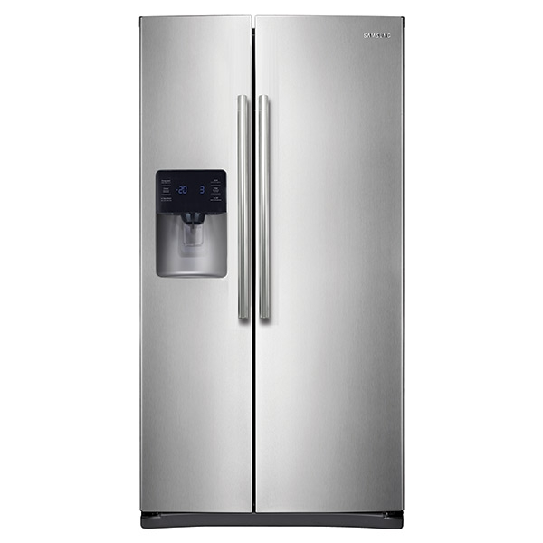 245 cu ft Side-By-Side Refrigerator with In-Door Ice Maker