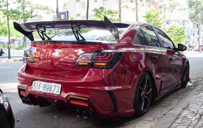 Chiêm ngưỡng chiếc Chevrolet Cruze độ ''tới nóc'' tại Thành phố Hồ Chí Minh - 11