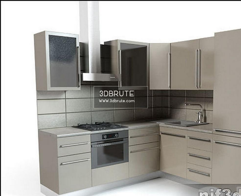 Kitchen Design 3d Model 35 Kitchen 3dmodel Download 3d Models Free 3dbrute
