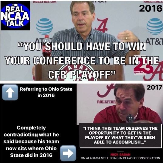 Football Coach Quote Wallpaper Nick Saban Meme About Alabama Ohio State Cfp Playoff