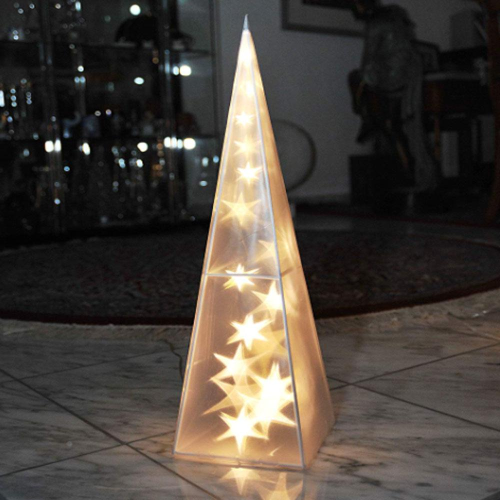 Piramide Kerstverlichting Kerst Piramide - Lampjes: 32 - Warm Wit - Led, Toepassing