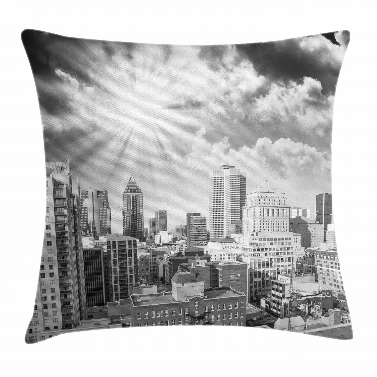 Monochrome Throw Pillow Cases Cushion Covers Home Decor 8 Sizes