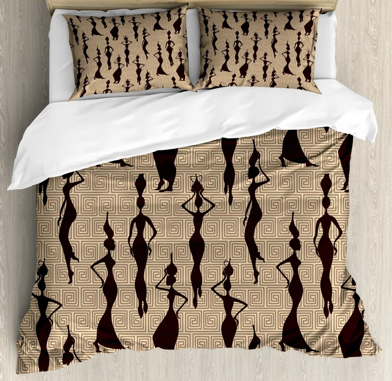 Detektiv Conan Bettwäsche Afro Duvet Cover Set With Shams African Woman Print Pillow
