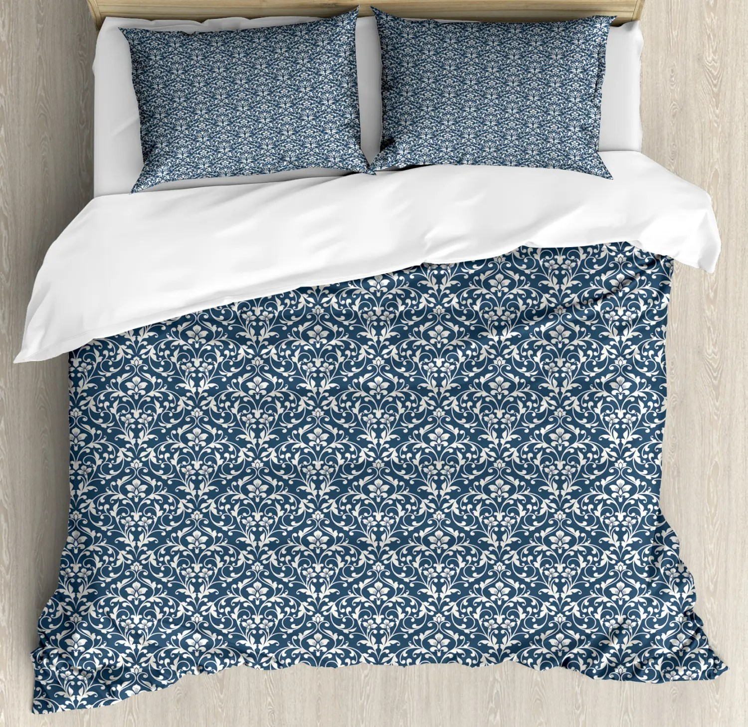 Damask Duvet Details About Damask Duvet Cover Set With Pillow Shams Vibrant Asian Foliage Print