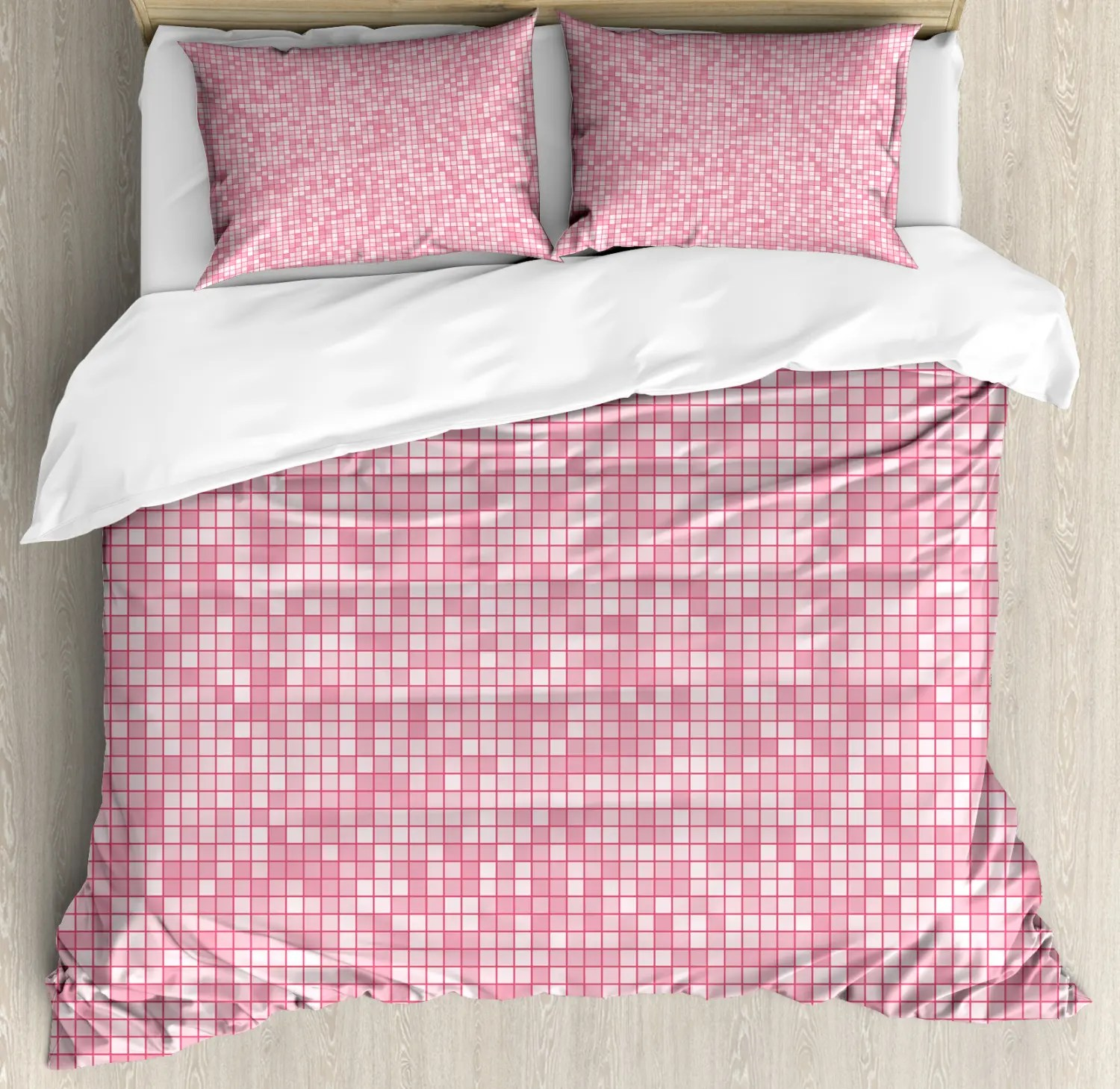 Pink Duvet Cover Details About Pink And White Duvet Cover Set Twin Queen King Sizes With Pillow Shams Bedding