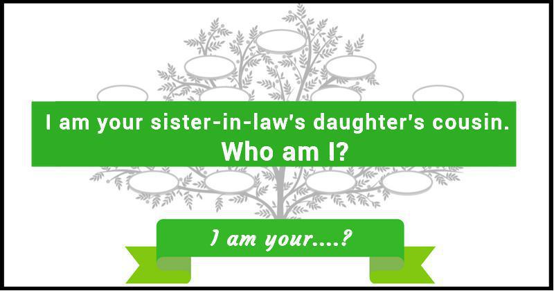 Family Tree Riddle 9 I Am Your?