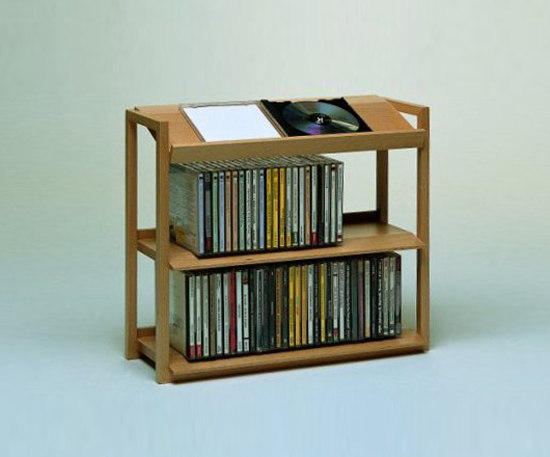 Porta Cd Shelving From Woodesign Architonic