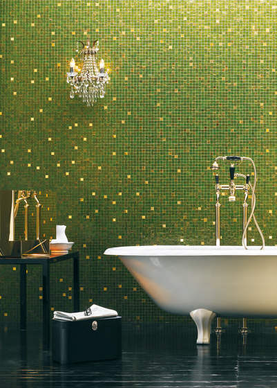 Badfliesen Blau Blends | Gold Collection By Bisazza | Gold Collection
