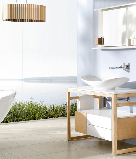 My Nature By Villeroy Boch Bath Surface Mounted - Villeroy Boch Waschtisch My Nature