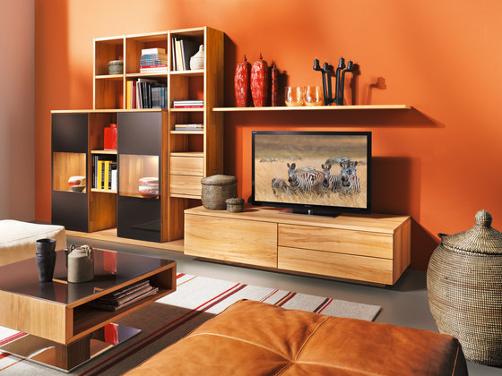 Team 7 Couchtisch Lift Cubus Living Room By Team 7 | Cubus Wall Storage System