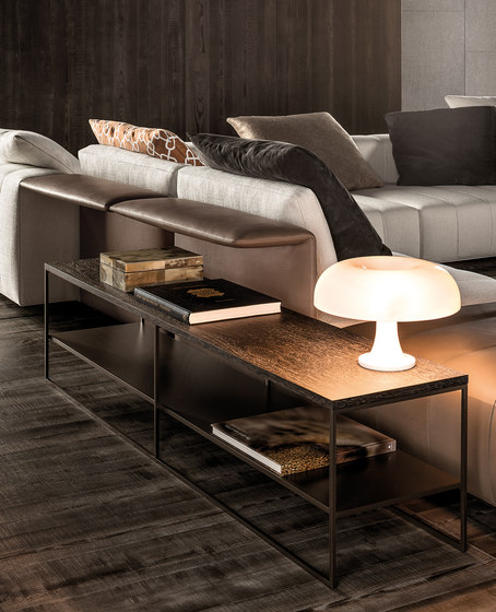 Minotti Sofa Calder Bronze Coffee Table - Coffee Tables From Minotti