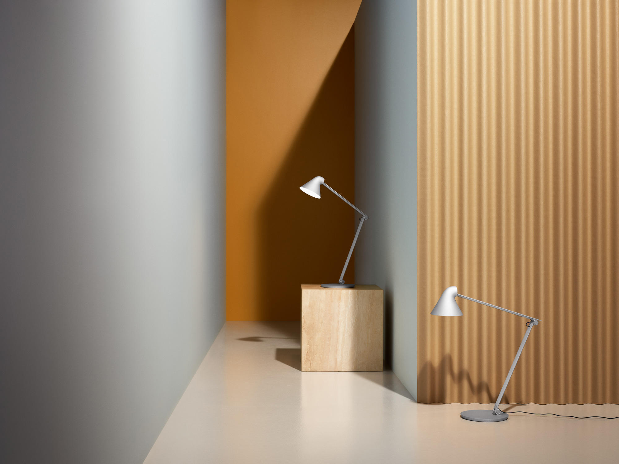 Njp Floor Free Standing Lights From Louis Poulsen Architonic