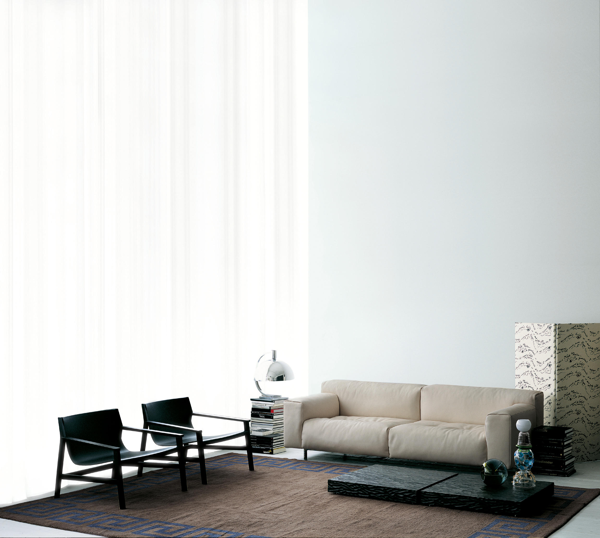 Living Divani The Wall Sofa Softwall Sofas From Living Divani Architonic