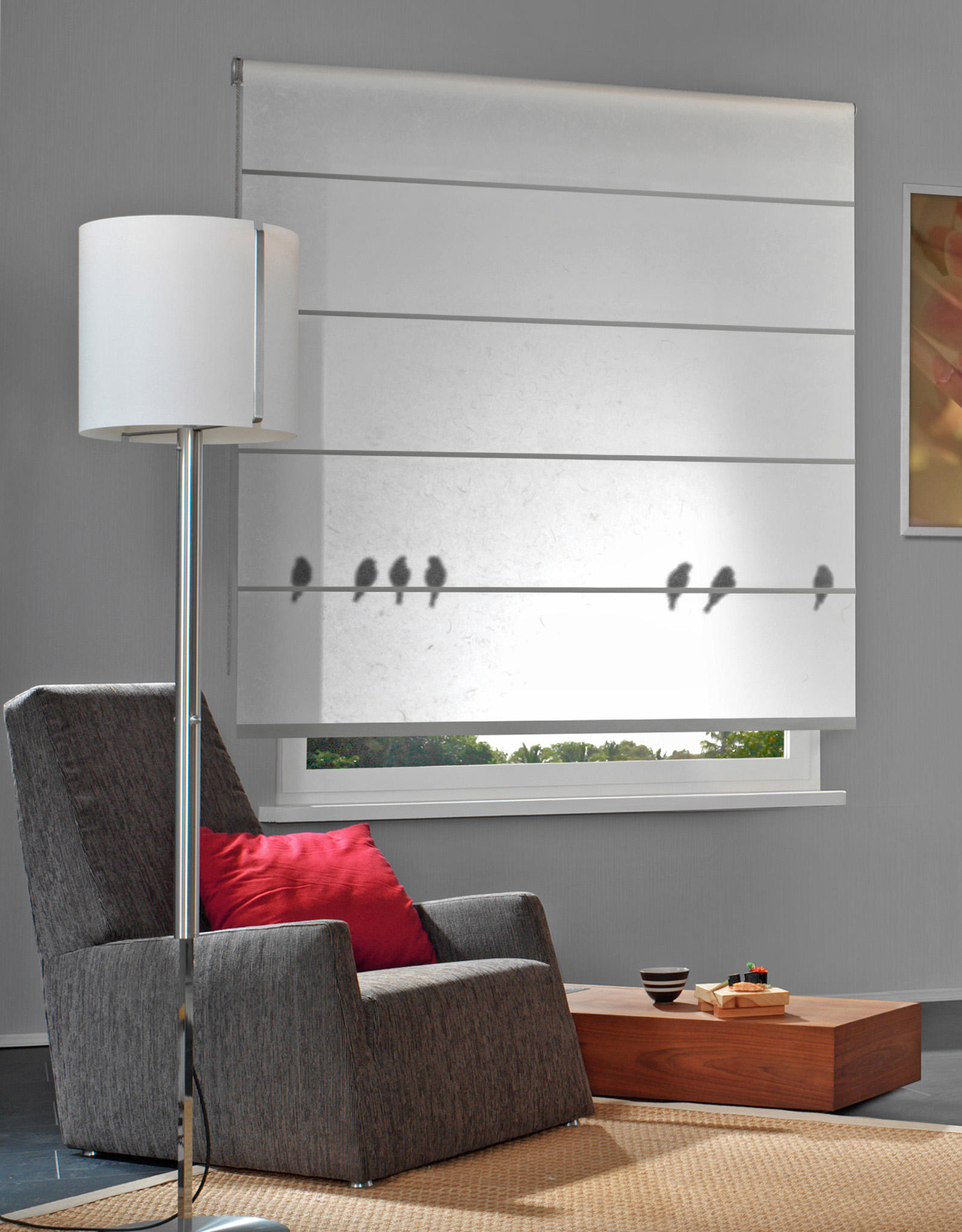 Rollo Bremen Rollo Shades Panel Glides From Wood Washi Architonic
