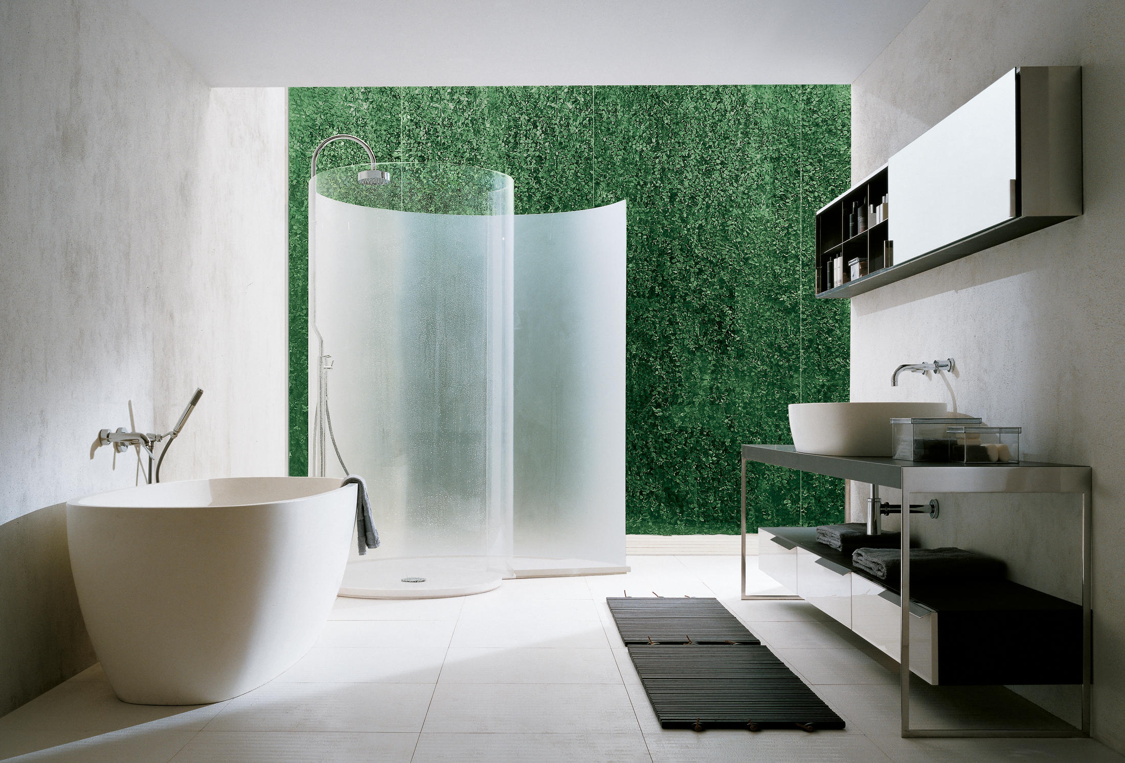 Chiocciola Shower Screens From Agape Architonic