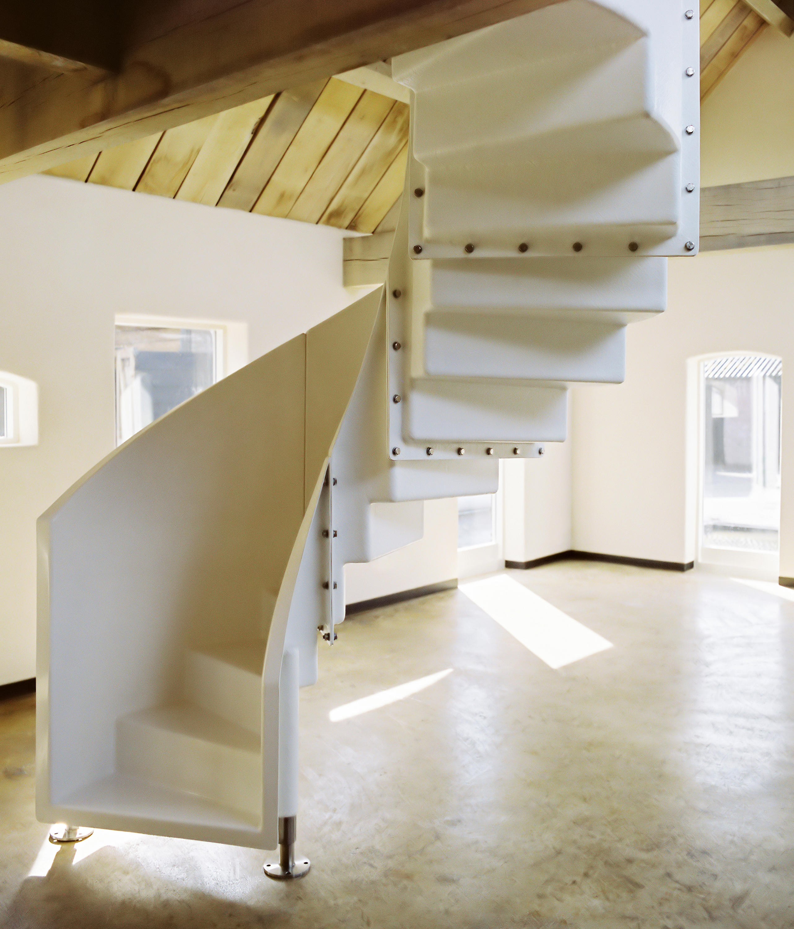 Elementstair Spiral Staircases From Weltevree Architonic