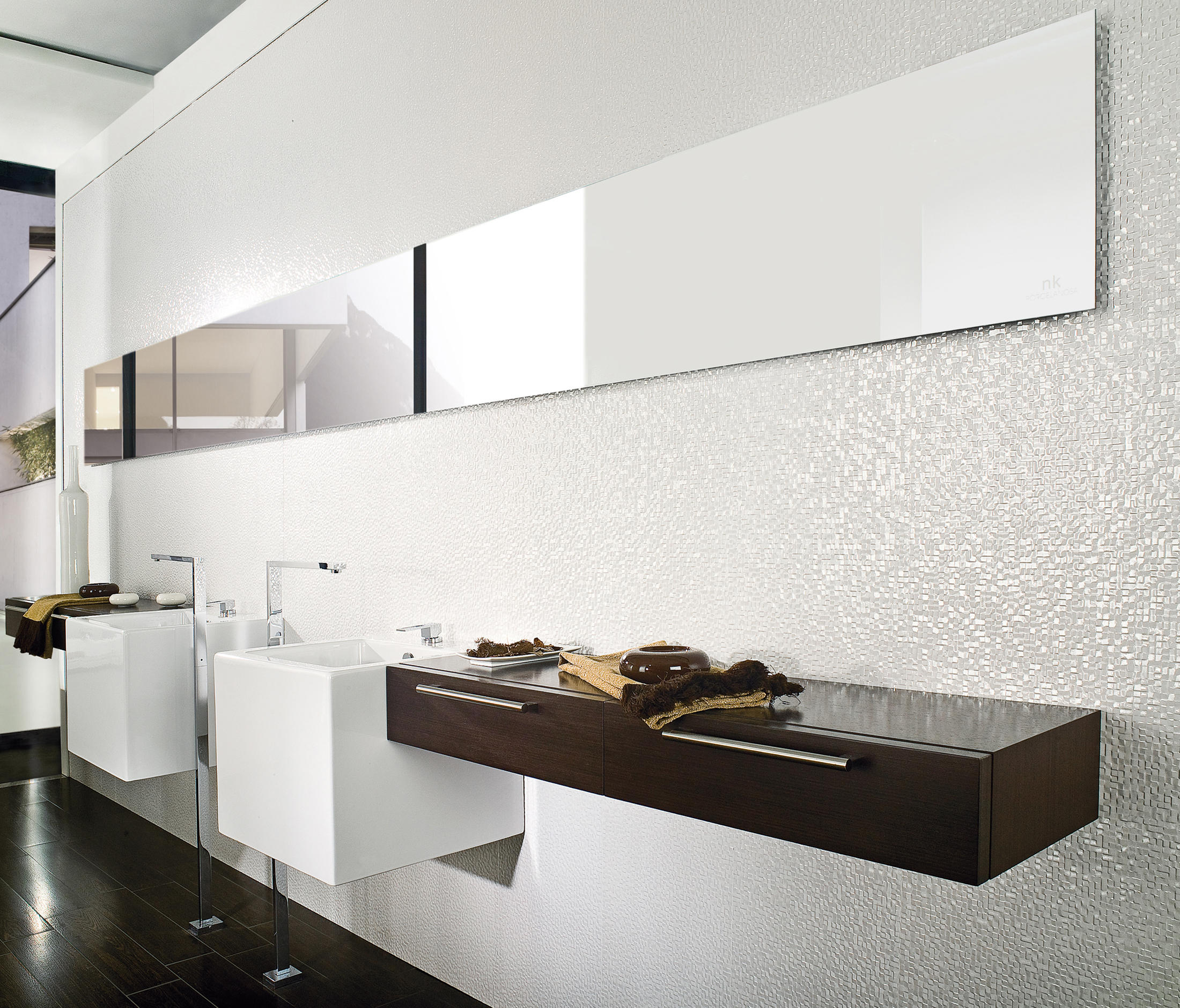 Porcelanosa Carrelage Cubica Blanco Ceramic Tiles From Porcelanosa Architonic