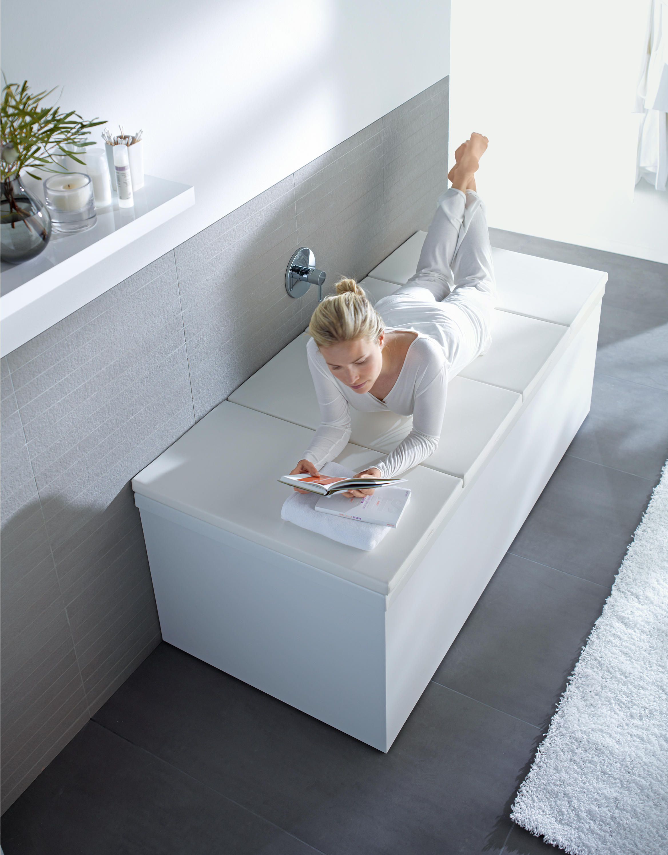 Badewanne Duravit Bathtub Cover Bath Shelves From Duravit Architonic