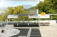 OUTDOOR KITCHEN | TABLE, TEAK - Bar tables from Viteo ...
