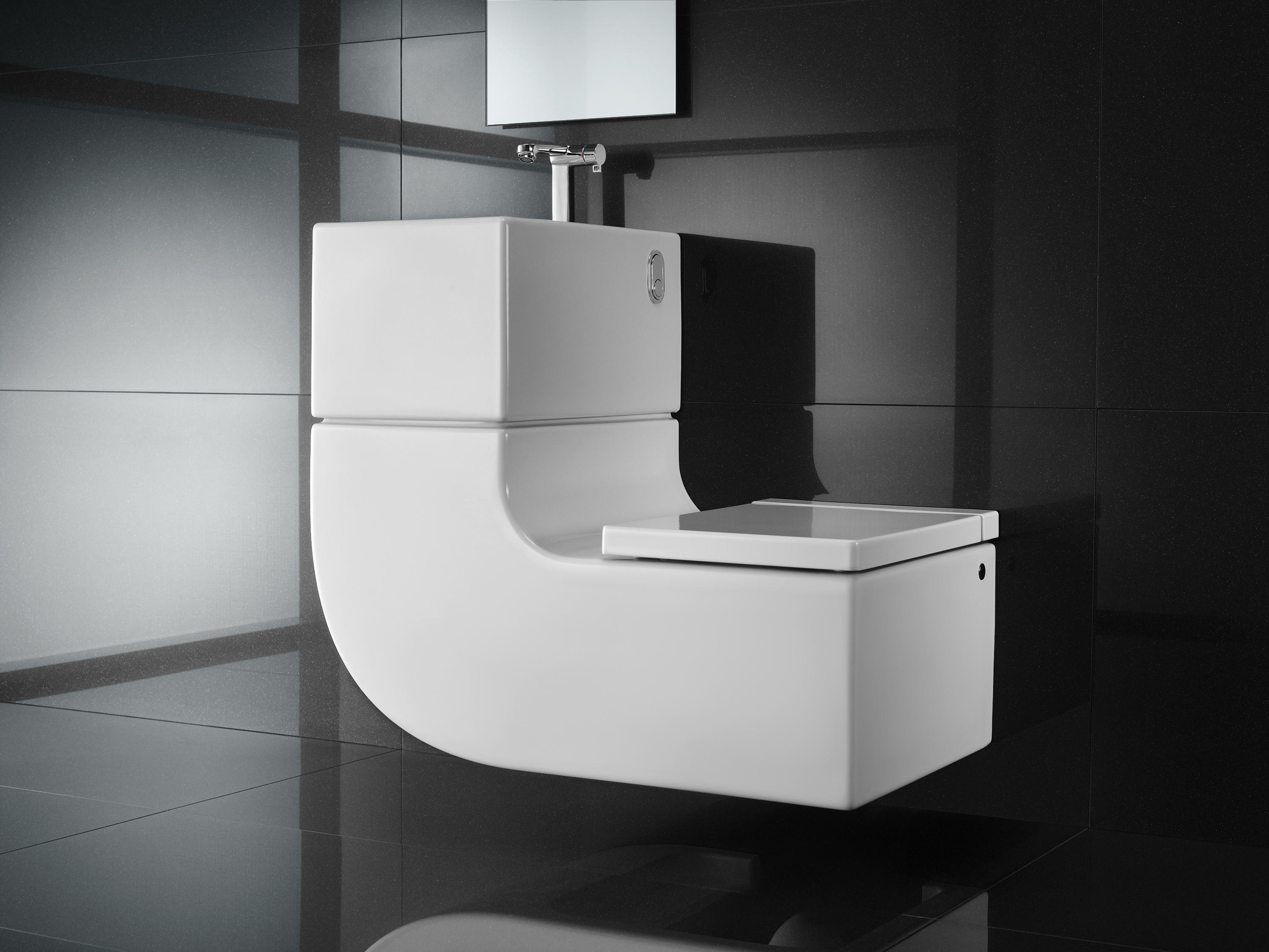 Design Wc W 43w Washbasin 43 Wc Toilets From Roca Architonic