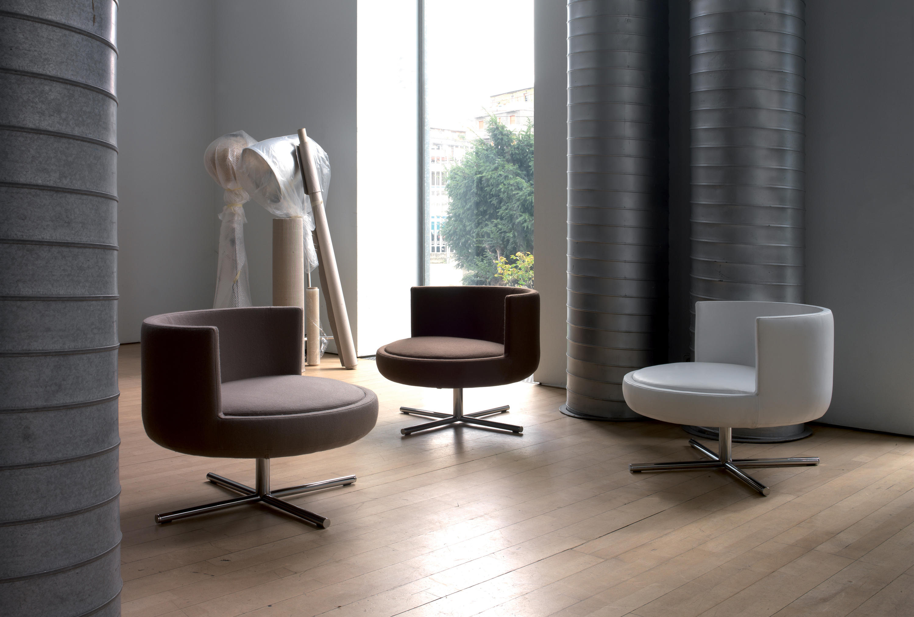 Design Lounge Sessel Round - Armchairs From B&t Design | Architonic