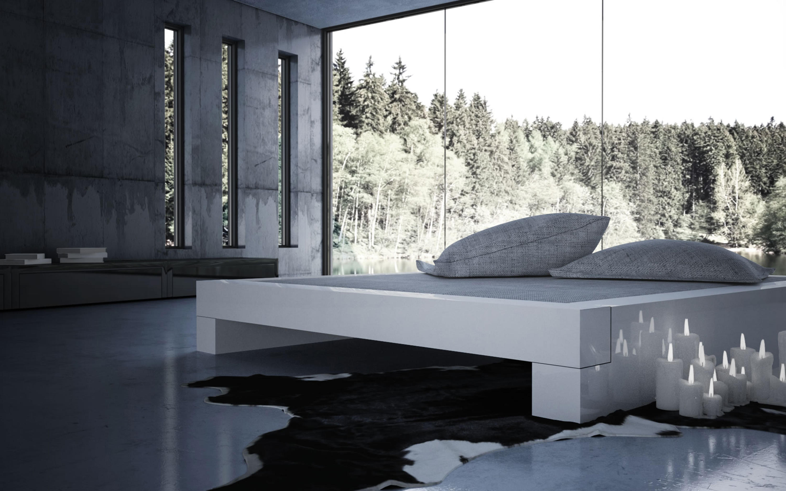 Bett 200x180 Somnium Bed With Bed Drawer Beds From Rechteck Architonic