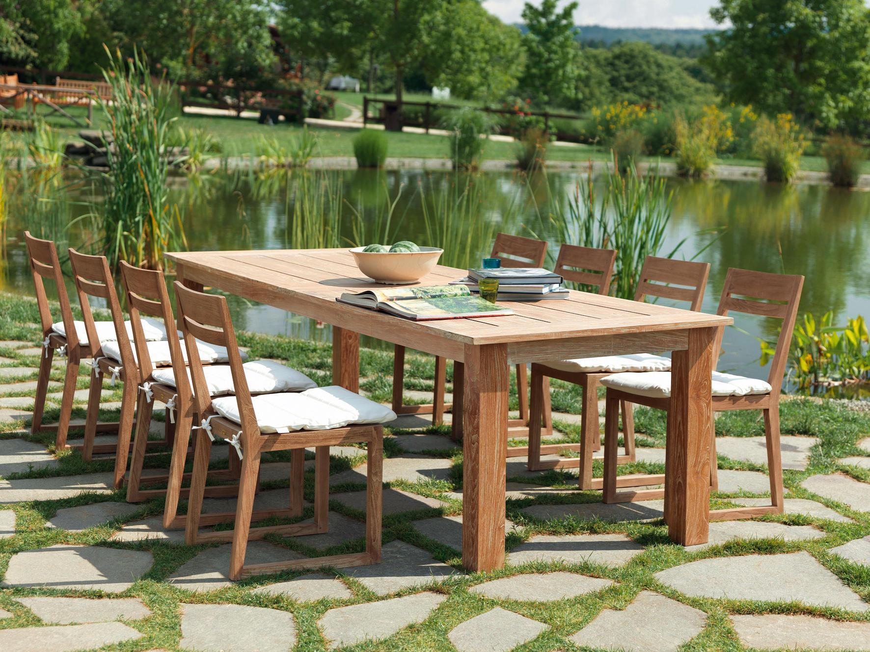 Tavoli legno unopiu tavoli da giardino uno piu