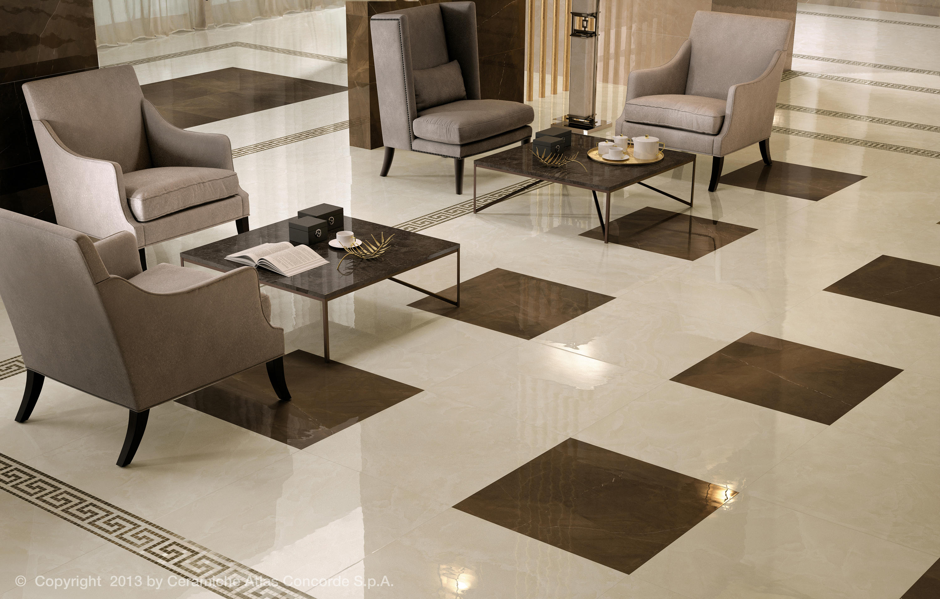Floor Tiles Design For Small House Marvel Floor Gray Stone Ceramic Tiles From Atlas