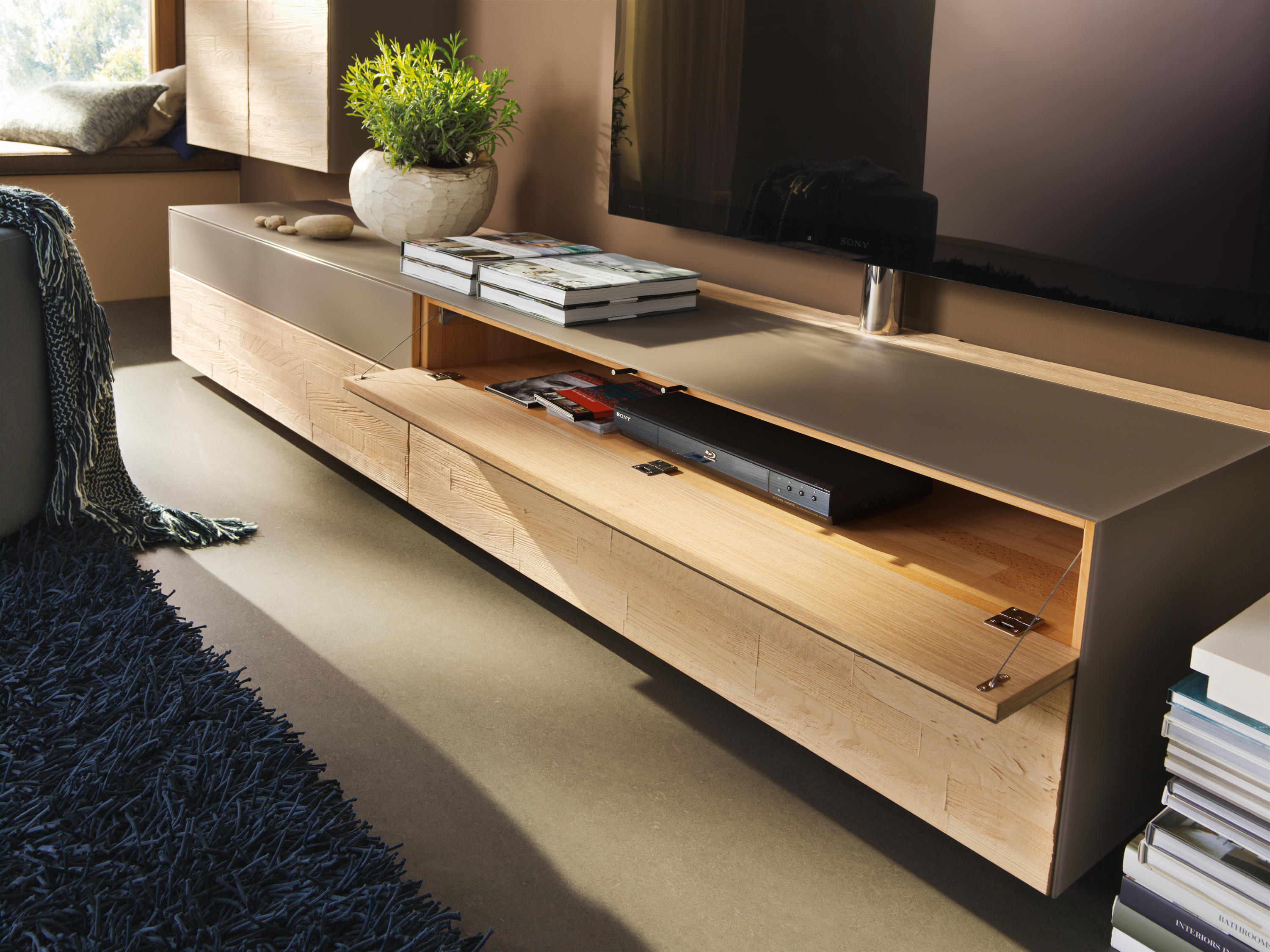 Team 7 Cubus Cubus Pure Home Entertainment Multimedia Sideboards From