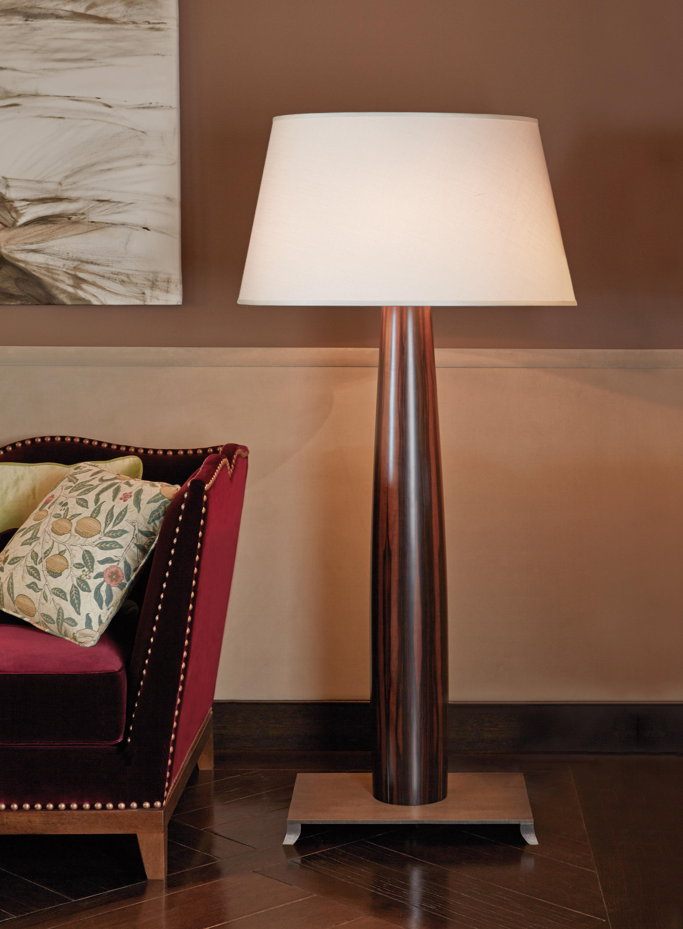 Riva 1920 Pia Floor Lamp - Free-standing Lights From Promemoria