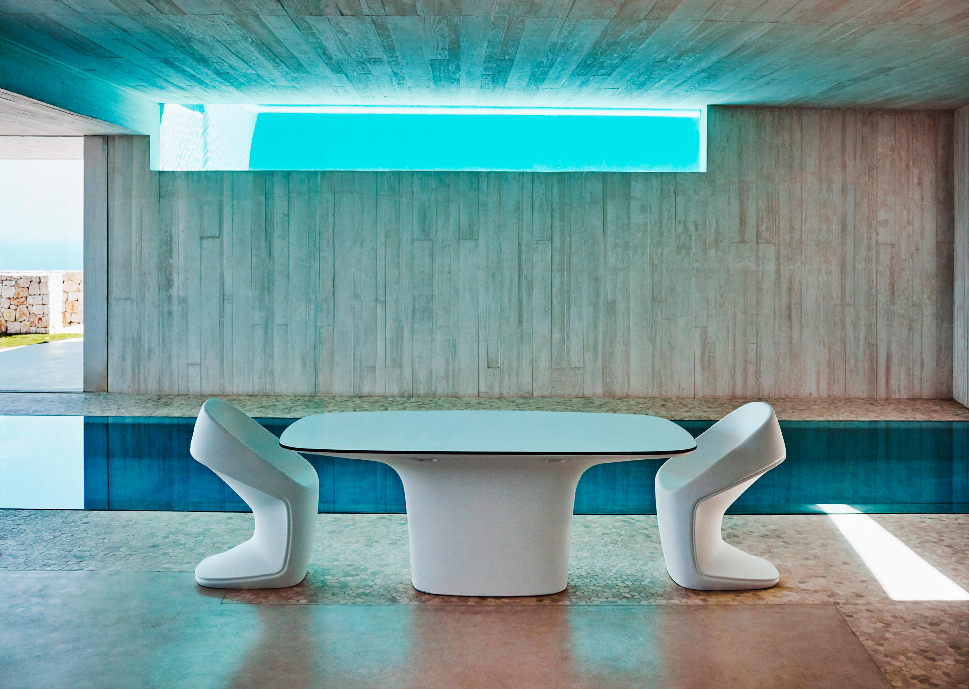 Titti Giovannoni Interior Design Ufo Chair Chairs From Vondom Architonic